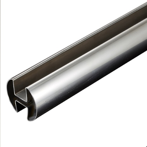 Stainless Steel Double Slot Round Tubes Manufacturers, Dealers