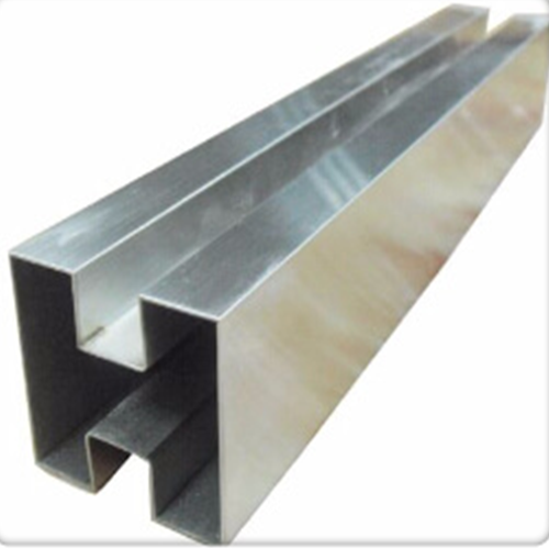 Stainless Steel Double Slot Square Tubes Manufacturers, Dealers